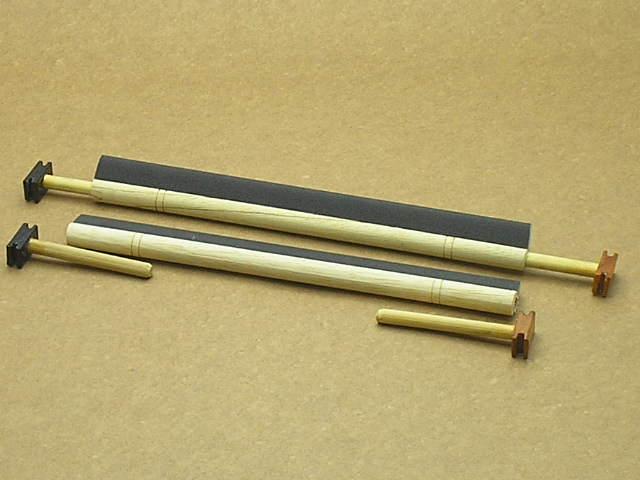 Poleiro Liso C/ Lixa 10mm Malha Fina